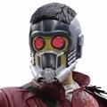 Senhor estrela máscara máscaras halloween guardians of the galaxy capacete com Óculos de Brilho PVC para Adultos Adereços Cosplay Nova Versão XCOSER