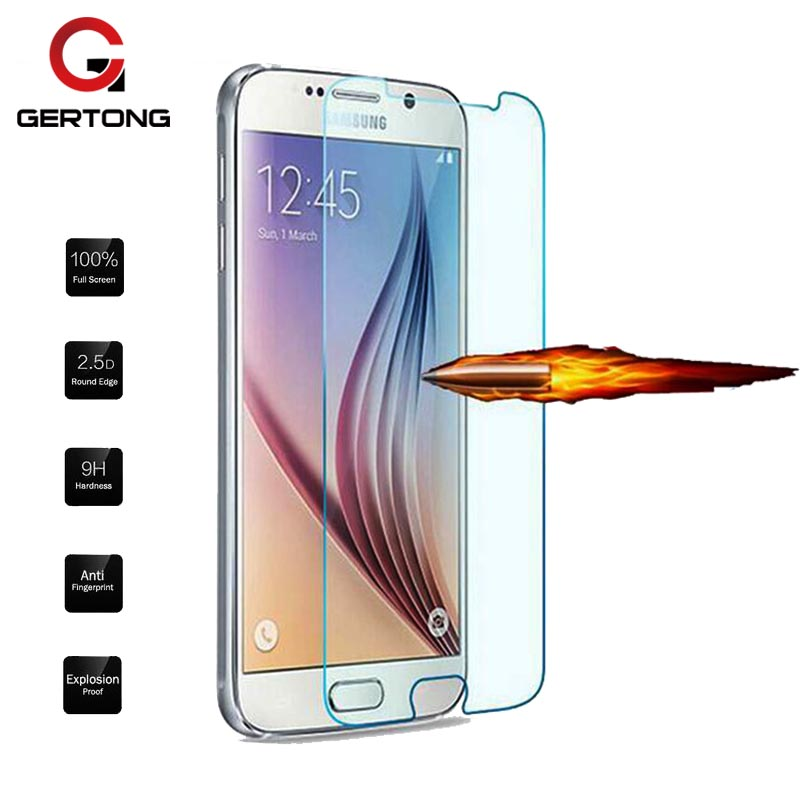GerTong 9H Clear Tempered <font><b>Glass</b></font> For <font><b>Samsung</b></font> Galaxy S5 <font><b>Neo</b></font> <font><b>S3</b></font> S4 Mini A5 2014 A3 A7 2016 Thin Screen Protector Cover Film LCD image