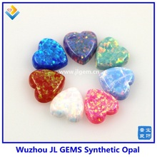 2pcs/lot Free Shipping Opal Heart Pendant For Fancy Opal Necklace Making Fire Color Snow White/Blue/Pink/Green/Purple Wholesale