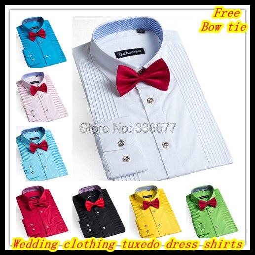 Элегантный дизайнер XS-XXXXL свадьба одежда длинный рукав мужская смокинг платье рубашки для мужчины QR-1150