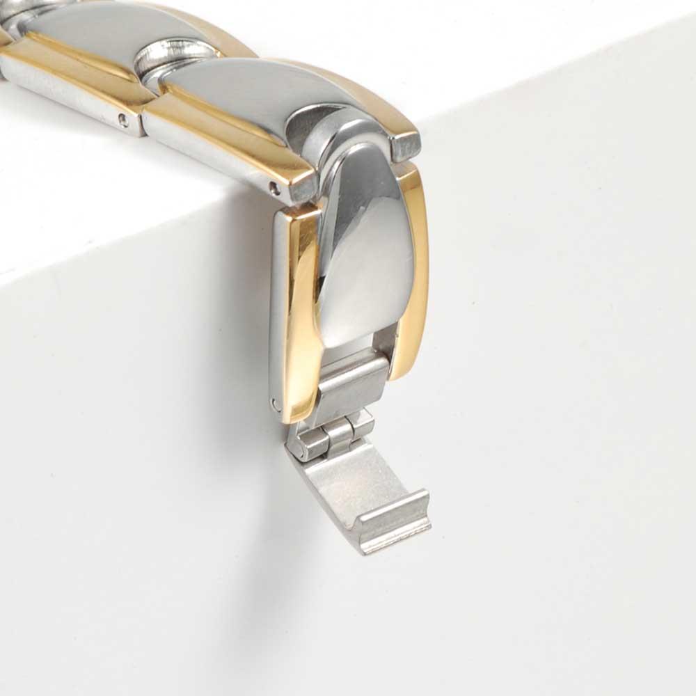 Vinter magnetiske armbånd mænd rustfrit stål magnet ion tysk - Mode smykker - Foto 5