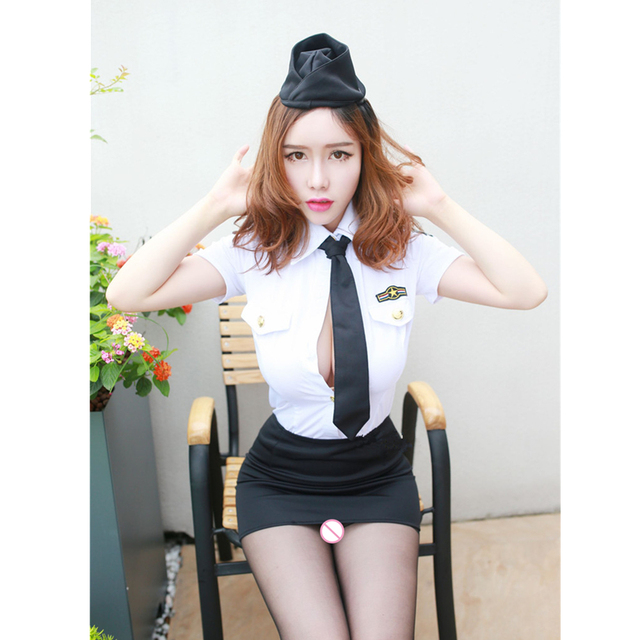 Sexy Policewoman Costume  4