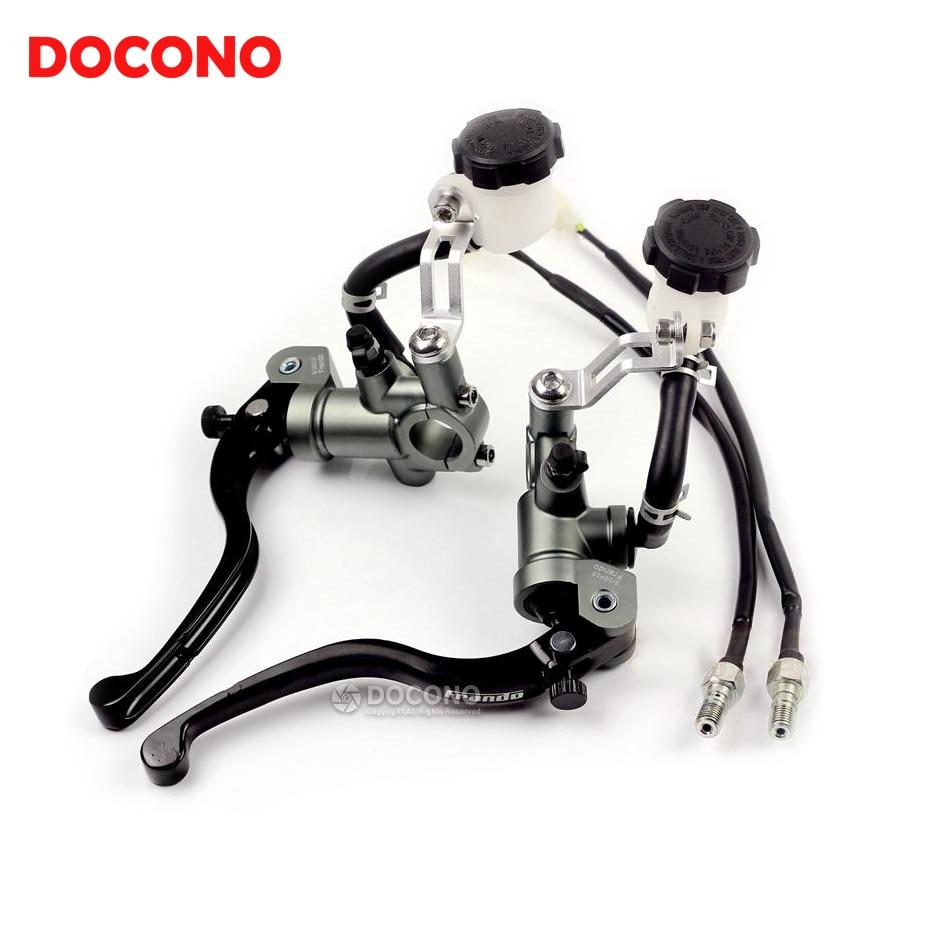 Motorcycle CNC modified direct push brake pump clutch pump For yamaha YZF R125 R15 R25 r 125 15 25 mt-07  benelli BN600 BN300
