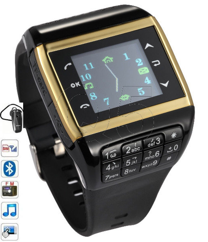 Q5 GSM Bluetooth Smart Watch Phone Q5 with Touch Screen SIM Card FM Unlock font b