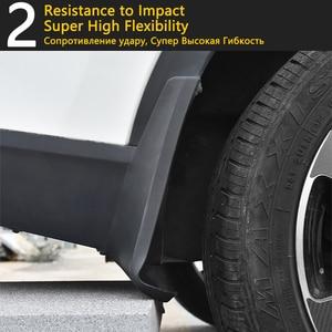 Image 5 - 4 PCS Front Rear Car Mudflaps for Skoda Karoq 2017 2018 2019 Fender Mud Guard Flap Splash Flaps Mudguards Accessories Mudguard