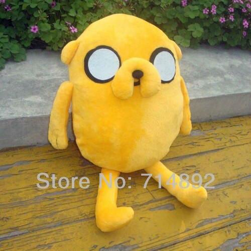 """Adventure Time Plush Toys, Jake Plush Dolls, 14"""" Anime Plush Super Cute Gift"""
