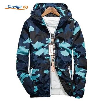 Camouflage Jackets Hooded Luminous Zipper Coats