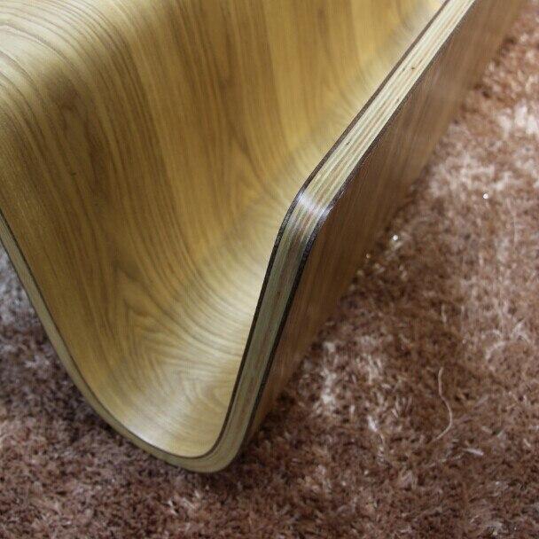Середине века Дизайн Современные фанеры центр столик для завтрака, журнал Мебель для гостиной стороны Чай кровать стол для ноутбука