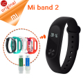Original Xiaomi mi band 2 Smart Wristband Bracelet mi band 2 Smart Band Fitness Tracker Heart Rate Monitor Touchpad OLED Stock