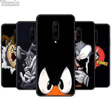 Black Silicone Case for Oneplus 7 7 Pro 6 6T 5T Phone Case for Oneplus 7 7Pro Soft TPU Cover Shell Bugs Bunny Looney Tunes