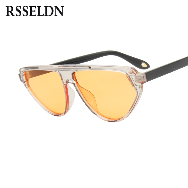 Men's Sunglasses 2019 Latest Design Long Keeper New Women Oval Flip Up Sunglasses Double Lens Brand Fashion Glasses Female Big Transparent Lens Vintage Glass Uv400 Choice Materials