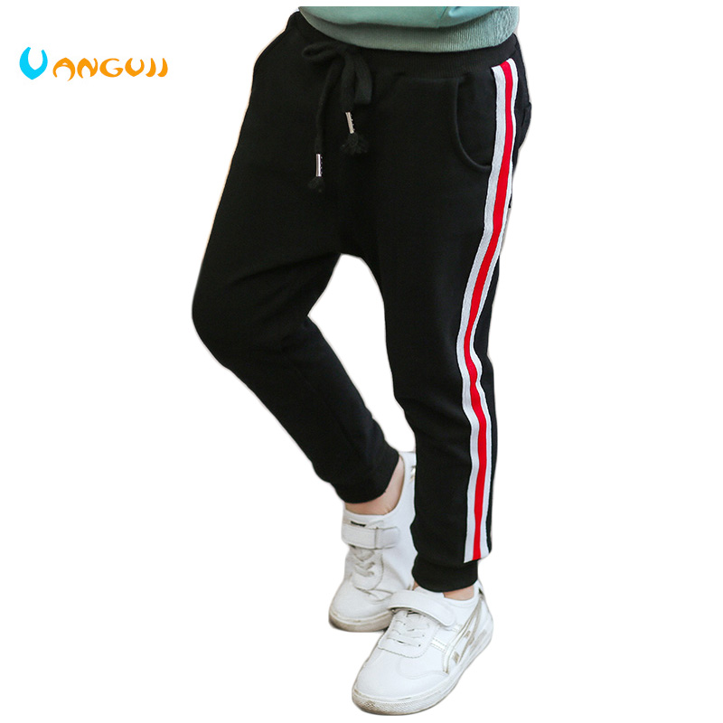 boys pant Childrens casual pants 4-13 year-old Fashion boy trousers kids Stretch sports pants cotton packet trousers