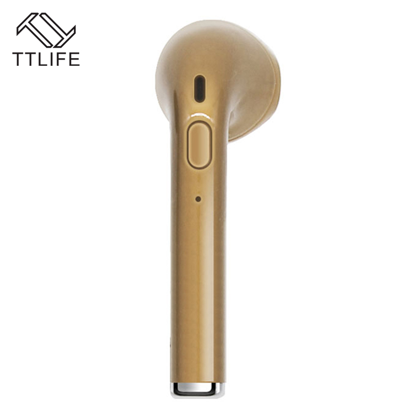 TTLIFE Mini Bluetooth Earphone V2 Wireless Sport Stereo Headset WithOne to Two Connections With HD Mic For Android Phone Xiaomi new i7 mini bluetooth earbud wireless invisible headset with mic stereo bluetooth earphone fit ios android smartphone