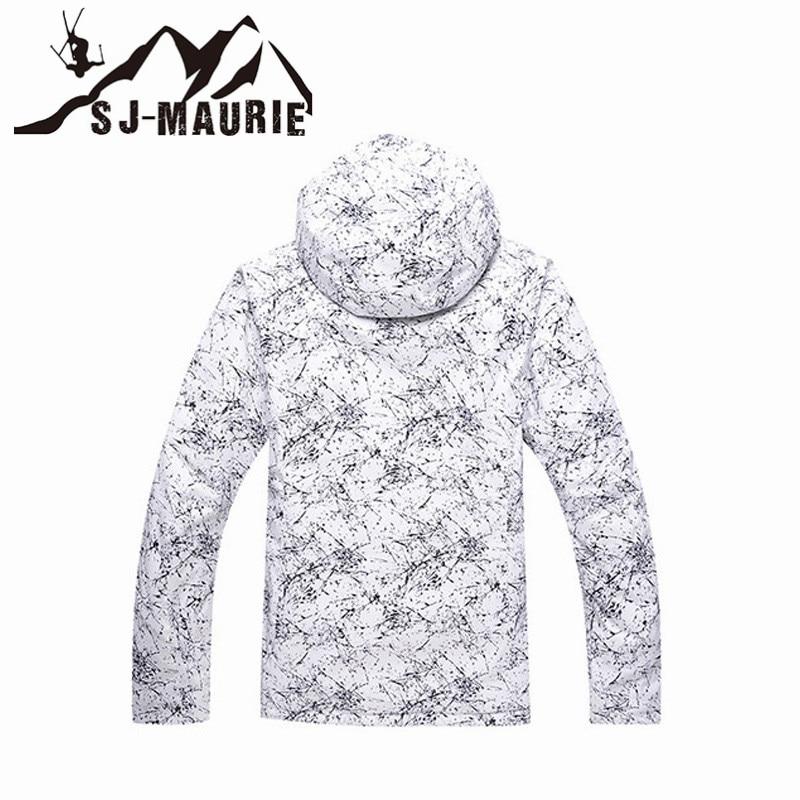 Sj-maurie hommes femmes veste de Ski Snowboard neige veste d'hiver manteau imperméable coupe-vent Super chaud Snowboard veste de Ski - 2