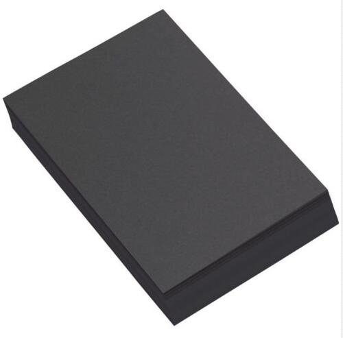 2/10//30/50 Sheets 230gsm Plain Black Papers Cardstock For Paper Craft Card Making 21 x 29.7cm a4 colored cardstock 230gsm deep color papers for craft card making red blue dark brown merlot red deep green 10 20 sheets