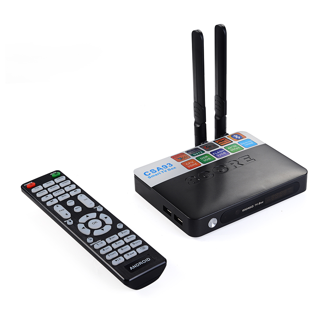 3GB / 32GB Amlogic S912 Octa-core Android 6.0 TV BOX H.265 4K 1000M LAN 2.4/5.8G WiFi BT4.0  Streaming Smart Media Player CSA93