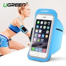 Ugreen Универсальный повязку Case для iphone 7 6s 5 5S запуск Спорт Обложка Держатель для Samsung Galaxy Huawei Велоспорт Case Cover