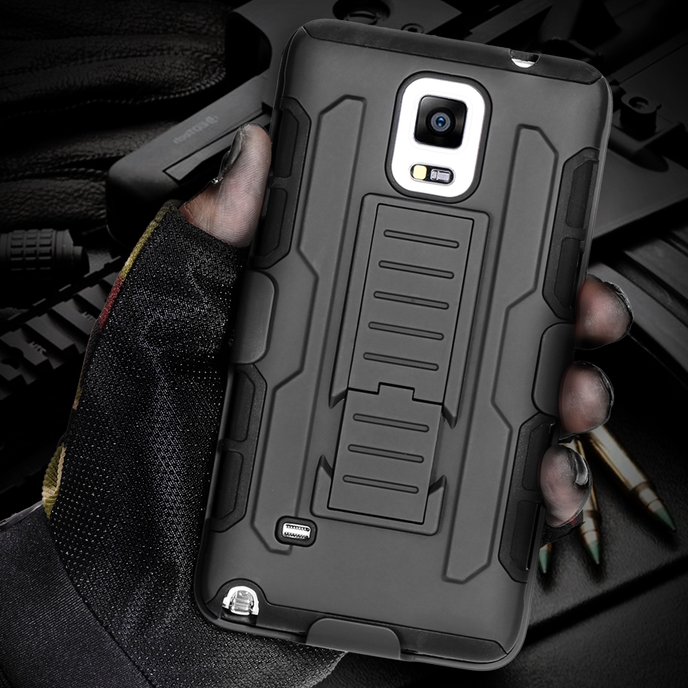 Aliexpress Com Buy Black Armor Phone Cases For Samsung