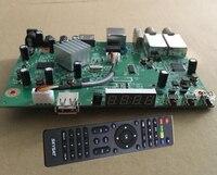main board SKYSAT S2020 Twin Tuner IKS SKS receptor acm IPTV H.265 Satellite Receiver Brazil for south america LAN safe ship