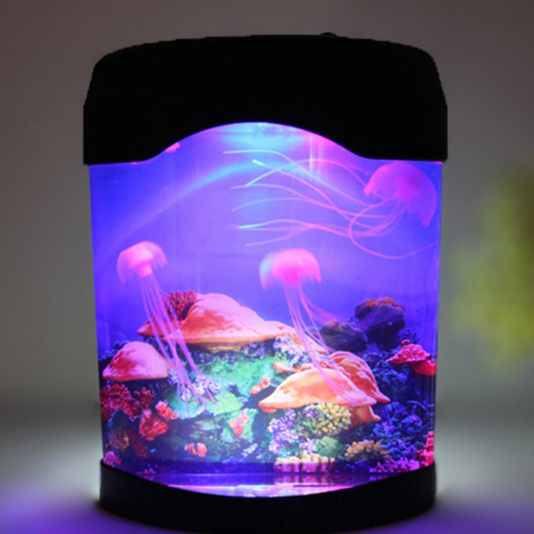 led criativo aquario luz da noite duravel 02