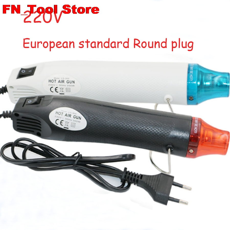New Soldering Station Soft Pottery Hot Air Gun Diy Rubber Band Convex Powder Relief Heat Shrinkable Use 110V/220v