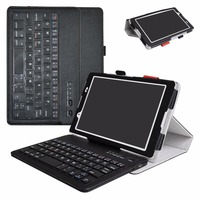 2in1 Removable Bluetooth Keyboard Case For Lenovo Tab 4 8 Inch Tablet 2017 Release Folding Stand