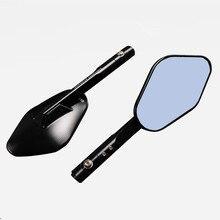 5 Colors Universal 2x CNC Aluminum Motorcycle Rearview Mirror Side Mirrors For Kawasaki Z250 Z750 Z800 Z1000 ZR800 ZRX1200 Honda