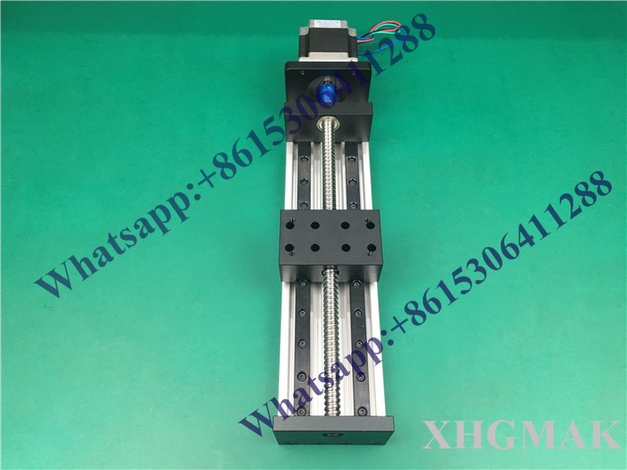 High Precision GX80*50 Ballscrew 1204-1600mm Effective Travel+ Nema 23 Stepper Motor CNC Stage Linear Motion Moulde Linear 80 1600
