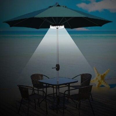 Patio Umbrella Light 3 Lighting Mode Wireless 28 LED Light