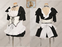 Maid Sama Cosplay Kaichou Wa Maid Sama Misaki Ayuzawa Dress Costume Custom Made
