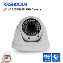 720P/960P AHD/TVI/CVI/CVBS CCTV camera 4 in 1 Cameras OV sensor plastic IR dome zomm lens indoor security cameras de seguranca