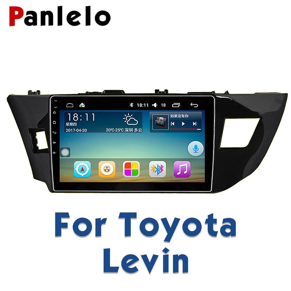 Panlelo для Toyota Levin Авторадио 2 Din Android автомобильный Радио gps автомобильный радио мультимедиа 10,2 дюймов видео плеер навигация Android
