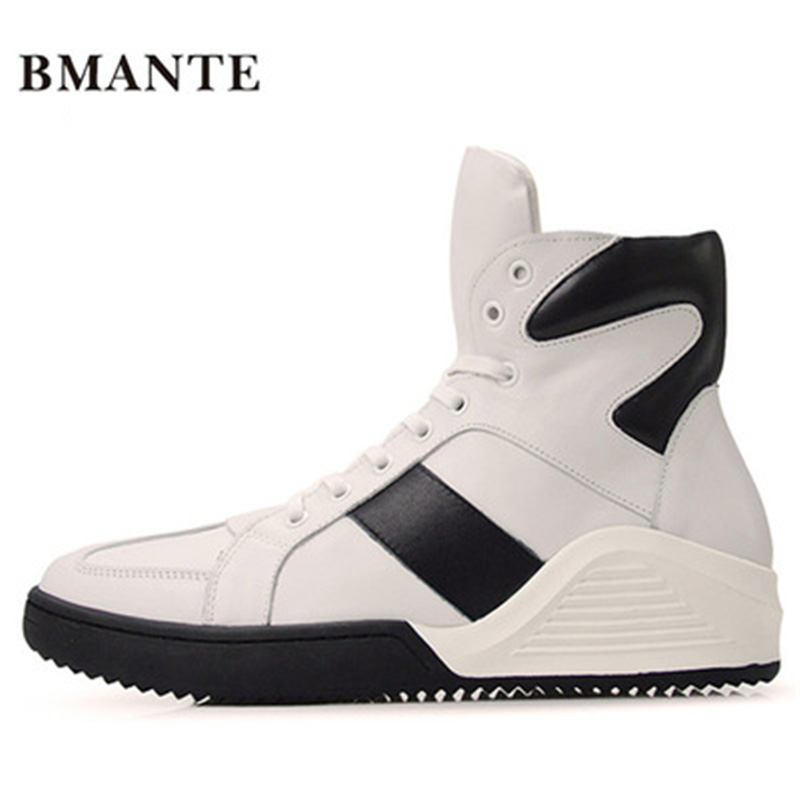 Men Genuine Leather Shoes Luxury Trainers Winter Male Adult Ankle Mixed-Colors Boots Casual Lace-up Flats Spring Black Sneaker new men genuine leather shoes luxury trainers summer male adult shoes casual flats solid spring black lace up shoes