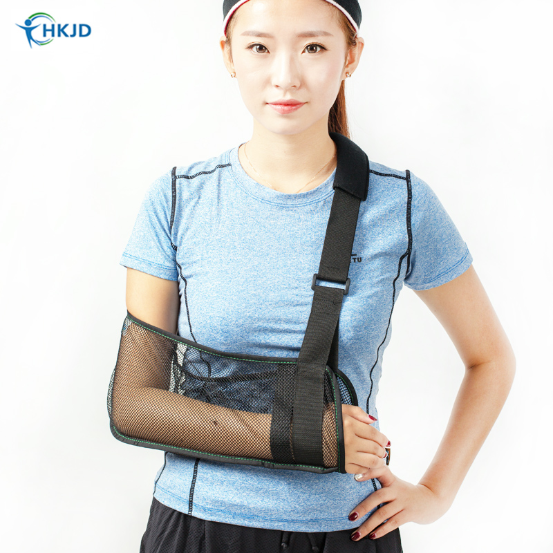 Medical Breathable Wrist Brace Forearm Arm Sling for Shoulder Dislocated Arm Support for Arm Fractures Brace