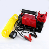 High-Power Off-Road Voertuig Auto Luchtpomp Metalen Draagbare 12V 45A Auto Band Auto Luchtpomp