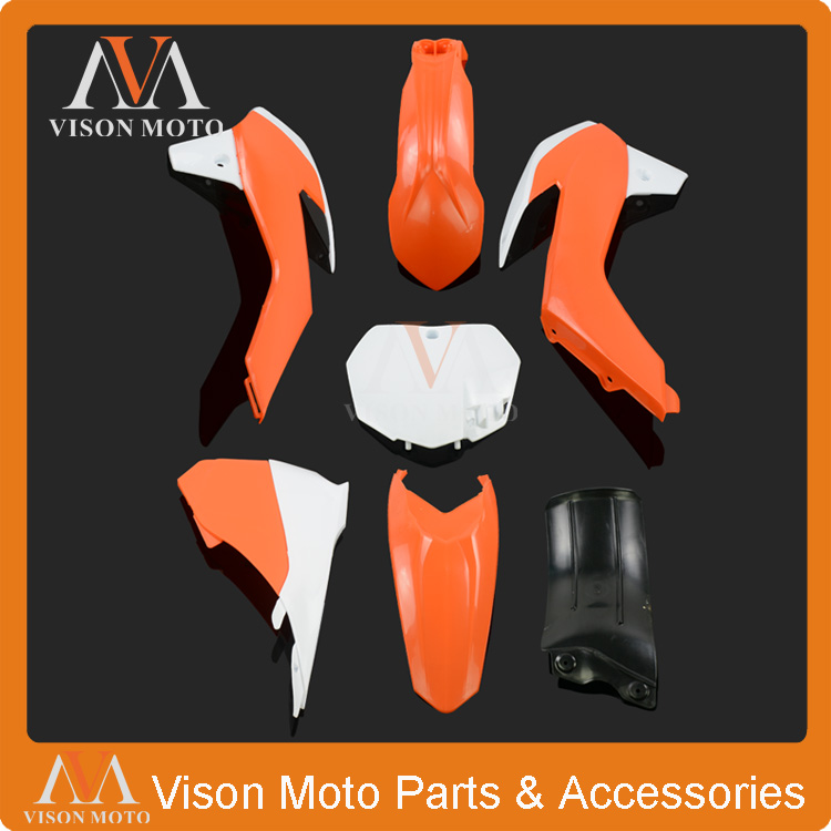 Complete Body Plastics Kits For KTM SX85 SX 85 2013 2014 2015 Dirt Pit Bike MX Motocross Enduro Supermoto SM Off Road Racing for benelli motocross dirt bike enduro off road wheel rim spoke shrouds skins honda ktm yamaha kawasaki ajp enduro supermoto mx