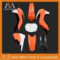 Complete Body Plastics Kits For KTM SX85 SX 85 2013 2014 2015 Dirt Pit Bike MX Motocross Enduro Supermoto SM Off Road Racing