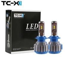 TC-X Guaranteed Car LED Headlights H7 H1 H3 H11/H8/H9 HB3/9005 HB4/9006 H27 880/881 7000LM Super Power Replacement LED Bulb Kit