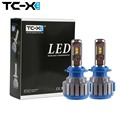 TC-X Venta Caliente Del Coche LED Faros H7 H1 H3 H11/H8/H9 HB3/9005 HB4/9006 H27 880/881 9012 Super Power Reemplazo Bombilla LED Kit