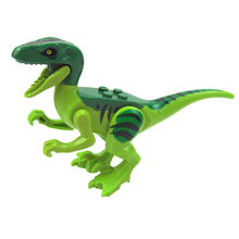 8pcs Jurassic World 2 Park Dinosaur Tanystropheus Spinosaurus Velociraptor Building Blocks Bricks Compatible Lego