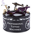 High Performance Tattoo Body Art Alloy Motor Rotary Machine Gun Liner Shader Purple Can Automatically Shrink Needle Length