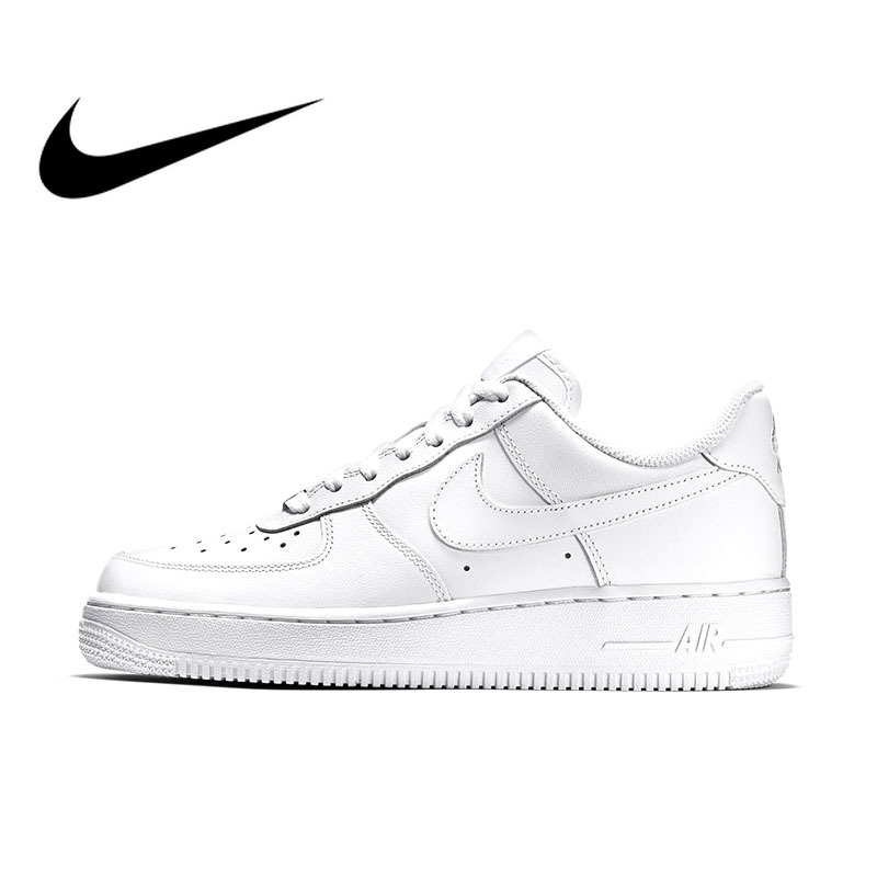 Original Authentic NIKE AIR FORCE Women's Sports Shoes Board Womens Skateboarding Shoes Sneakers Sport Outdoor Light Thermal