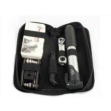 Kit de herramientas de reparación de bicicleta eléctrica, para Xiaomi Mijia M365 Qicycle EF1 Ninebot, Mini bomba, destornillador, llave inglesa con bolsa