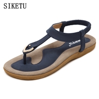 2016 Summer Leather Sandals In The Elderly Mother Comfortable Fish Head Slope With Non Slip Soft