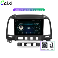 CAIXI Android 8.1 Car Radio Multimedia Vdeo Player for Hyundai Santa Fe 2 2006 2012 2 Din Navitei GPS navigation Dvd Player