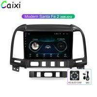 CAIXI Android 8.1 Car Radio Multimedia Vdeo Player for Hyundai Santa Fe 2 2006 2012 2 Din Navitei GPS navigation Dvd Player