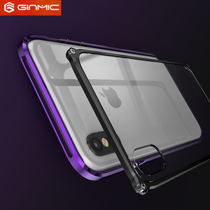 Image 4 - Metal Frame For iPhone 11 Pro Max Case Silm Clear Hard Plastics Back Armor Cover for iPhone XS Max XR Ultra Thin Accessories