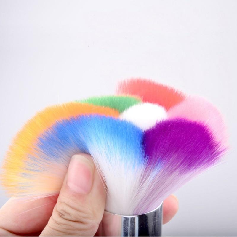 Nail Art Brush Cleaner: Nail Art Beauty Tool Dust Remover Brush Cleaner For