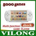 4.3 pulgadas 4G de choque juego de consola Bulit en la Cámara FM TV HACIA FUERA Jugador Handheld del Juego Libre de 3000 juegos