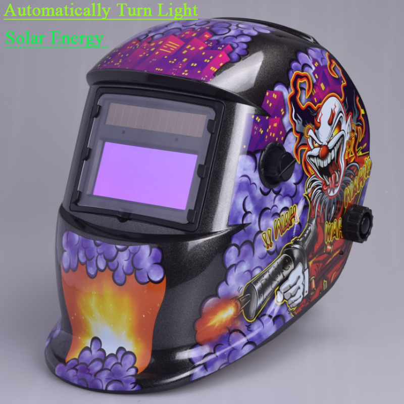 ФОТО Head-Mounted LCD Welding Protection Mask Solar Automatic Variable Light Welder Cap Welding Helmet Soldering Tools